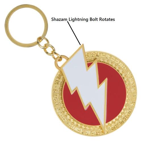 DC Shazam Rotating Keychain