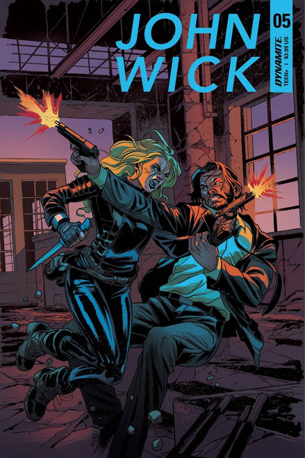 Dynamite Entertainment John Wick #5 Comic Book