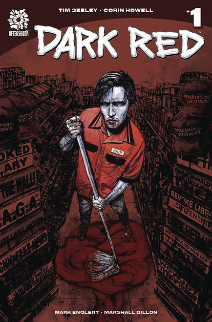 Aftershock Comics Dark Red #1 Comic Book [2nd Printing]