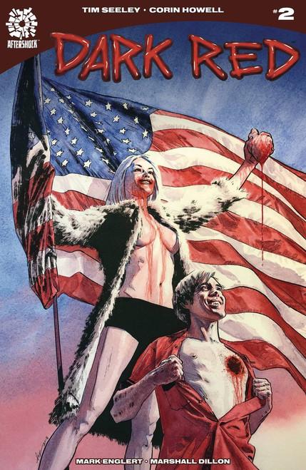 Aftershock Comics Dark Red #2 Comic Book