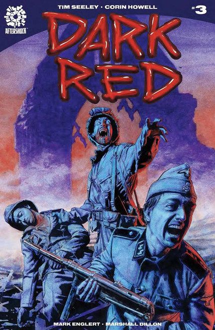 Aftershock Comics Dark Red #3 Comic Book
