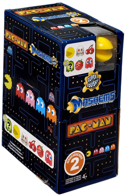 Mash'Ems Series 2 Pac Man Mystery Box [23 Packs]