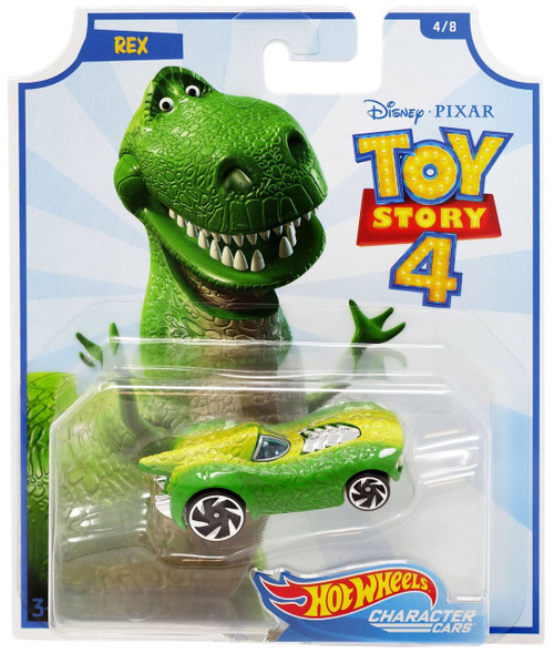 Toy Story 4 Hot Wheels Rex Die-Cast Car #4/8