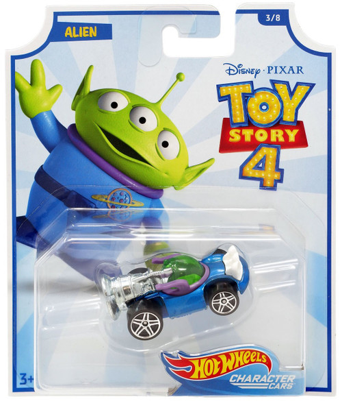 Toy Story 4 Hot Wheels Alien Die-Cast Car #3/8