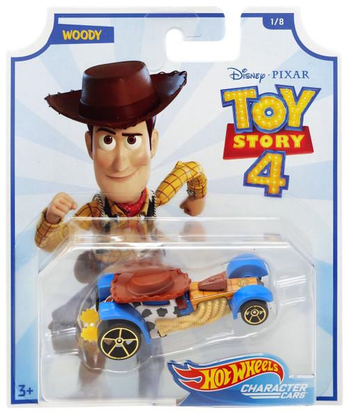 Toy Story 4 Hot Wheels Woody Die-Cast Car #1/8