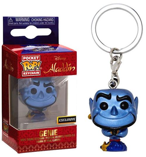 Funko Aladdin POP! Disney Genie Exclusive Keychain [Metallic]