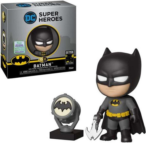 DC Funko 5 Star Batman Exclusive Vinyl Figure [Black & Gray]