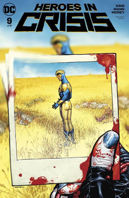 DC Heroes In Crisis #9 of 9 Comic Book [Ryan Sook Variant Cover]