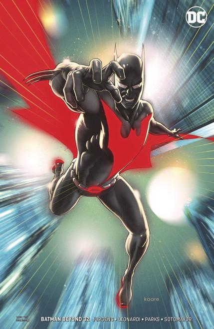 DC Batman Beyond #32 Comic Book [Kaare Andrews Variant Cover]