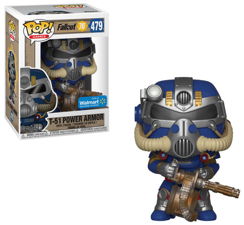 Funko Fallout 76 POP! Games T-51 Power Armor Exclusive Vinyl Figure #479 [Tricentennial]