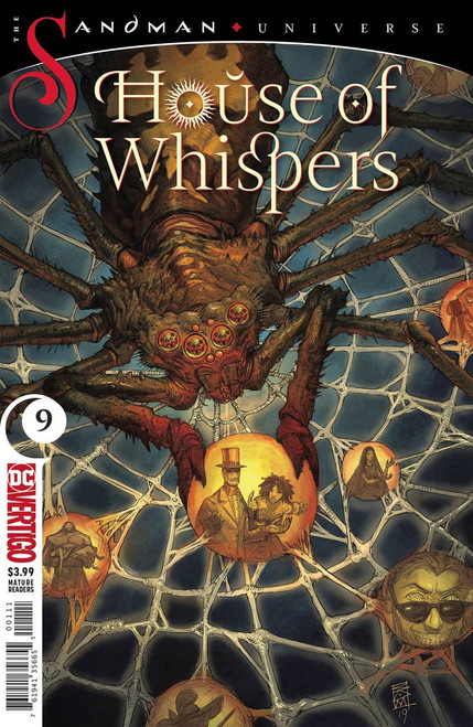DC House of Whispers #9 The Sandman Universe Comic Book