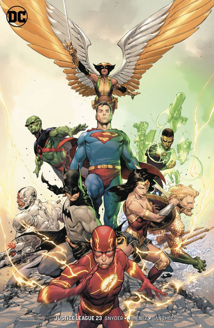 DC Justice League #23 Comic Book [Jerome Opena Variant Cover]