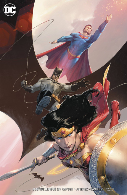 DC Justice League #24 Comic Book [Jerome Opena Variant Cover]