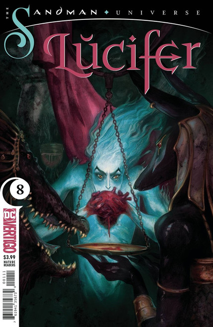 DC Lucifer #8 The Sandman Universe Comic Book