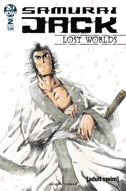 IDW Samurai Jack Lost Worlds #2 Comic Book