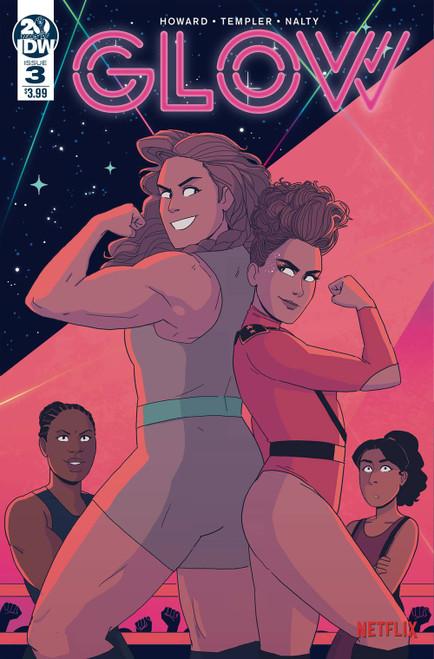 IDW Glow #3 Comic Book