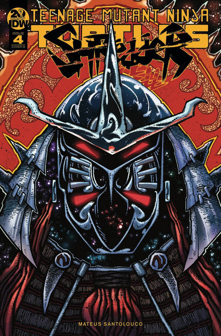IDW Teenage Mutant Ninja Turtles Shredder in Hell #4 Comic Book [Kevin Eastman Cover B]