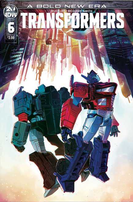 IDW Transformers #6 Comic Book [Bethany McGuire-Smith Cover B]