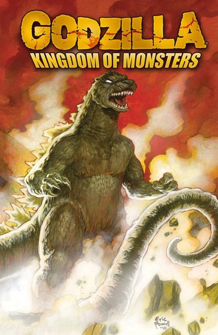 IDW Godzilla Kingdom of Monsters Trade Paperback Comic Book