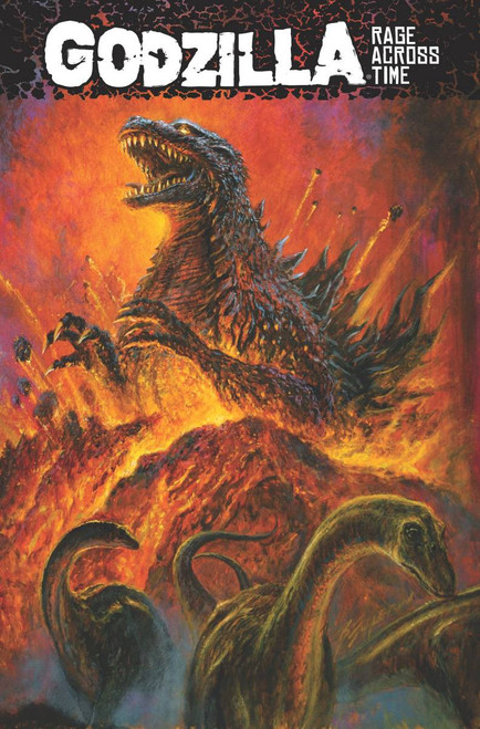IDW Godzilla Rage Across Time Trade Paperback Comic Book