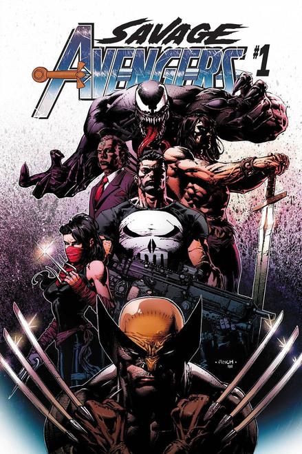 Marvel Savage Avengers #1 Comic Book