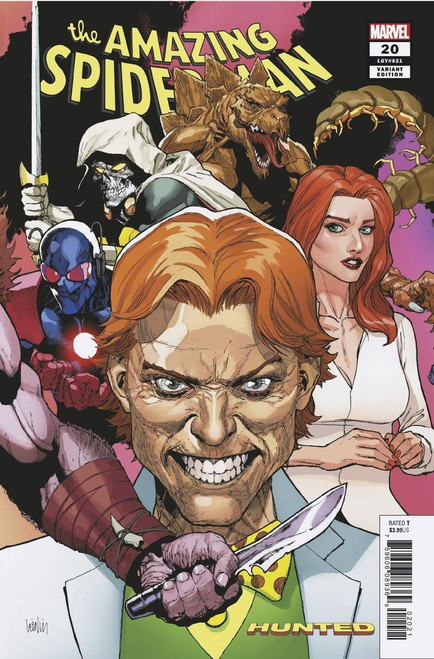 Marvel Comics Amazing Spider-Man #20 Comic Book [Yu Connecting Variant]