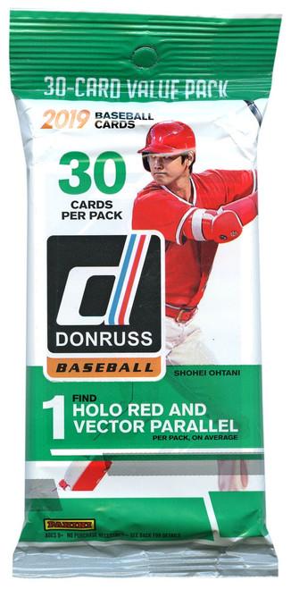 MLB Panini 2019 Donruss Baseball Trading Card VALUE Pack [30 Cards!]