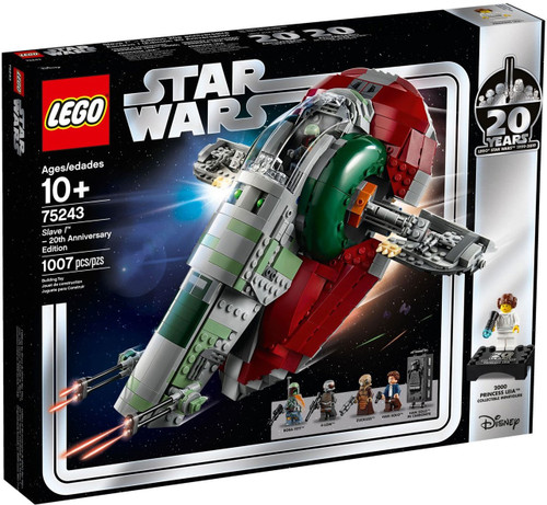 LEGO Star Wars 20th Anniversary Edition Slave 1 Set #75243