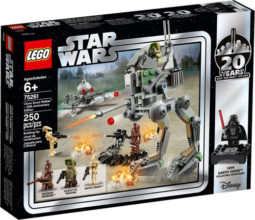 LEGO Star Wars 20th Anniversary Edition Clone Scout Walker Set #75261