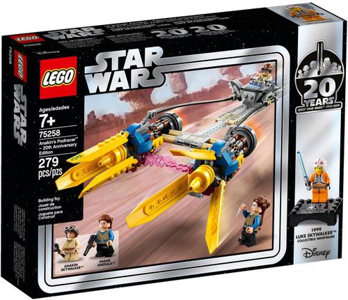 LEGO Star Wars 20th Anniversary Edition Anakin's Podracer Set #75258