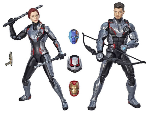 Marvel Legends Avengers Hawkeye & Black Widow Exclusive Action Figure 2-Pack