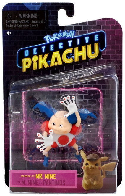 Pokemon Detective Pikachu Mr. Mime Figure