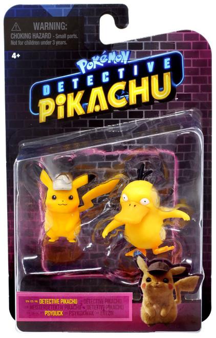 Pokemon Detective Pikachu & Psyduck Mini Figure 2-Pack