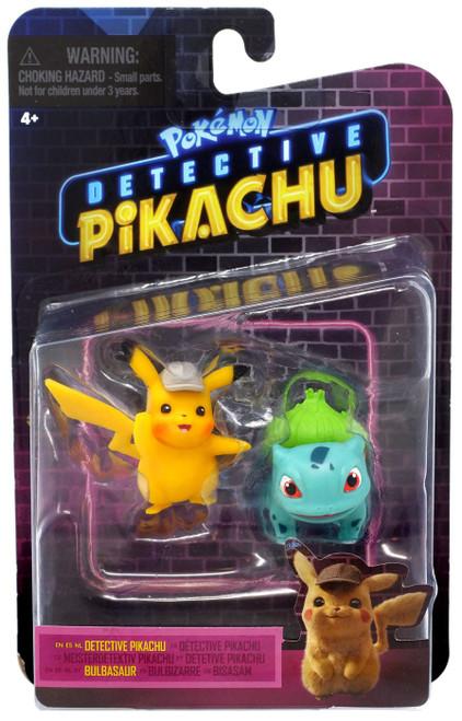 Pokemon Detective Pikachu & Bulbasaur Mini Figure 2-Pack