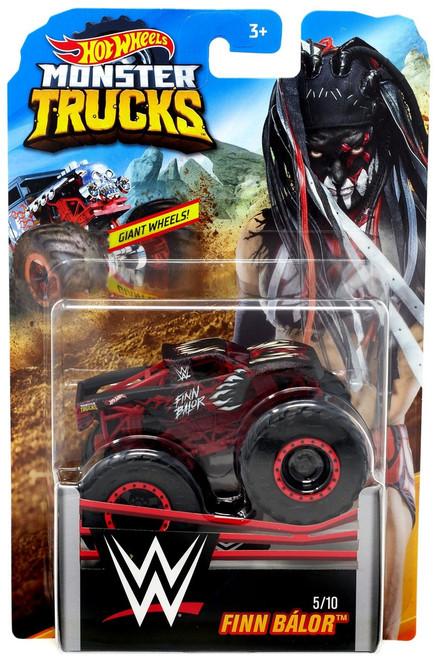 Hot Wheels Monster Trucks WWE Finn Balor Diecast Car