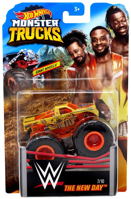Hot Wheels Monster Trucks WWE The New Day Diecast Car