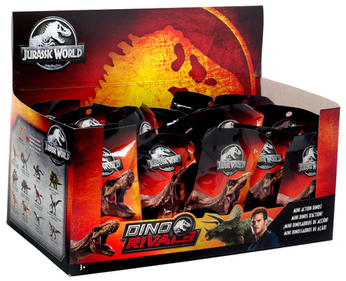 Jurassic World Matchbox Dino Rivals (Series 2) 2-Inch Mystery Box [24 Packs]