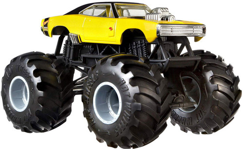 Hot Wheels Monster Trucks Dodge Charger R/T Diecast Car [1:24]