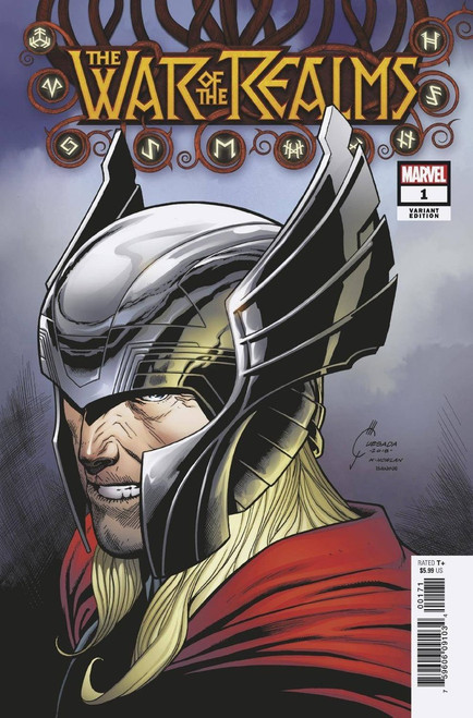 Marvel Comics War of The Realms #1 Comic Book [Joe Quesada Variant Cover]