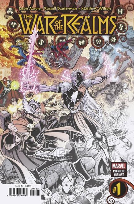Marvel Comics War of The Realms #1 Comic Book [Art Adams Premiere Variant Cover]
