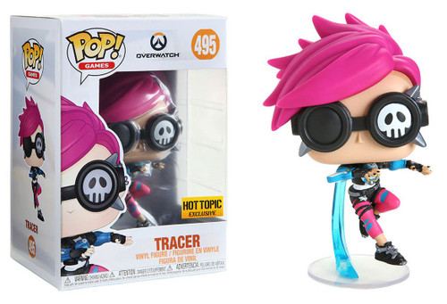 Funko Overwatch POP! Video Games Tracer Exclusive Vinyl Figure #495 [Punk Skin]