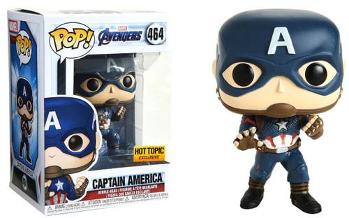 Funko Avengers Endgame POP! Marvel Captain America Exclusive Vinyl Figure #464