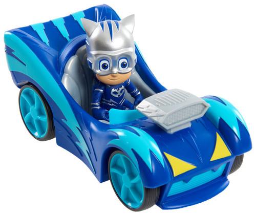 Disney Junior PJ Masks Speed Boost Cat-Car Vehicle & Figure