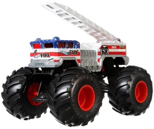 Hot Wheels Monster Trucks 5 Alarm Die-Cast Car