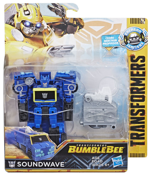 Transformers Bumblebee Movie Energon Igniters Power Plus Soundwave Action Figure