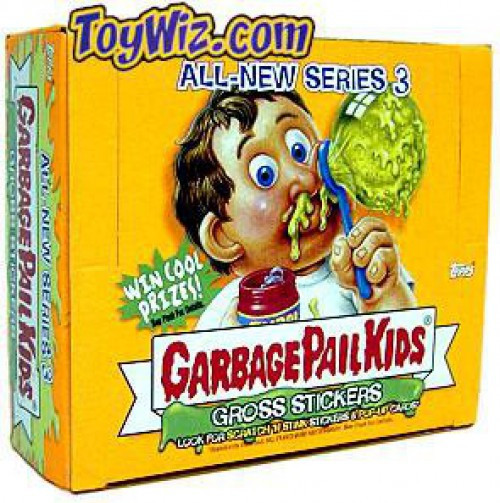 Garbage Pail Kids Topps All-New Series 3 Trading Card Sticker Box