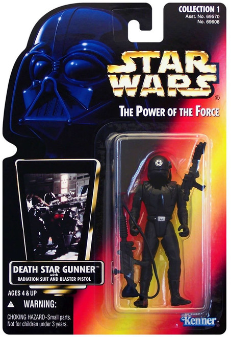 Star Wars A New Hope Power of the Force POTF2 Collection 1 Death Star Gunner Action Figure