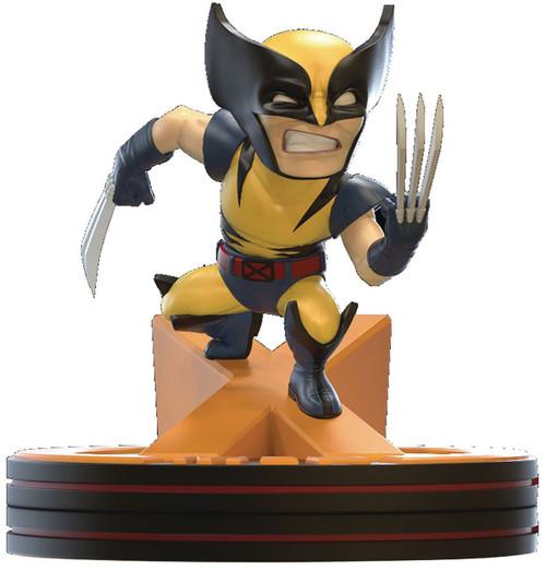 Marvel Q-Fig Wolverine 4.75-Inch Diorama Figure [80th]