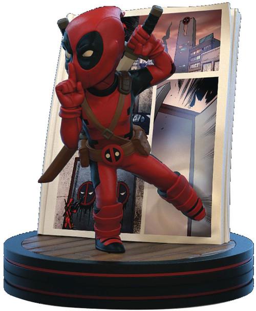 Marvel Q-Fig Deadpool 4D 4.75-Inch Diorama Figure