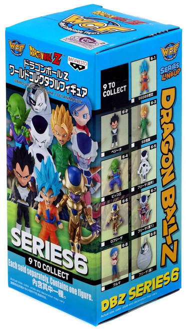 Dragon Ball Z WCF Volume 6 2.5-Inch Mystery Pack